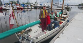 Rejs DZ-tą: Czterech panów w łódce
